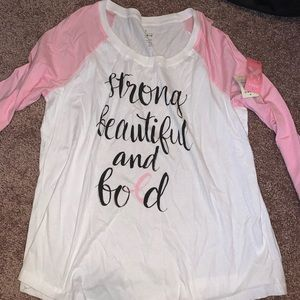 Torrid 3/4 shirt